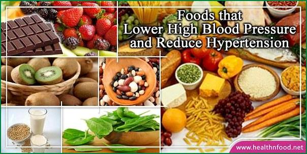 Best Foods that Lower High Blood Pressure