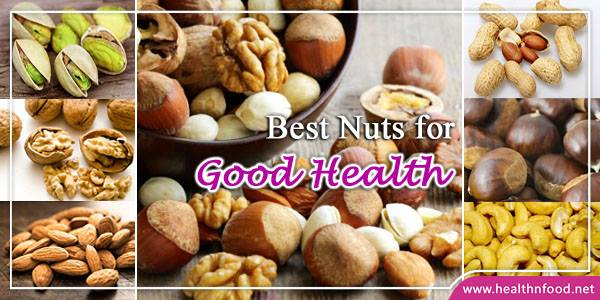 Best Nuts for Healthy Living