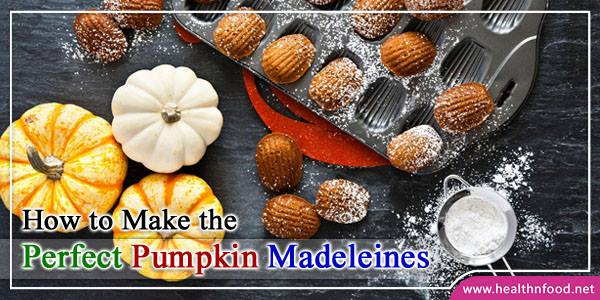 Best Pumpkin Madeleines Recipe