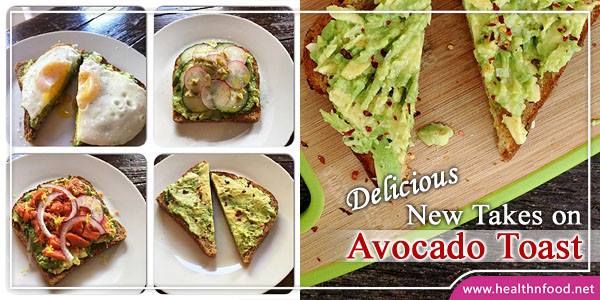 Different ways to use Avocado Toast