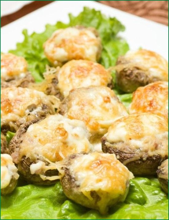Recipe of Jalapeno Popper Mushrooms