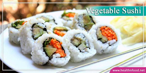 Simple Vegetable Sushi Recipe