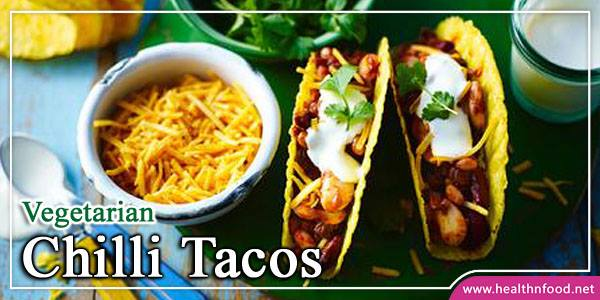 Veggie Chilli Tacos Dish