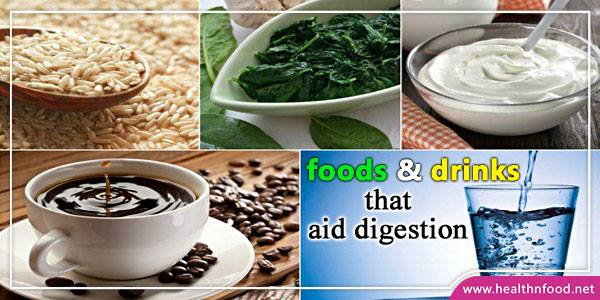 Foods that help digestive system