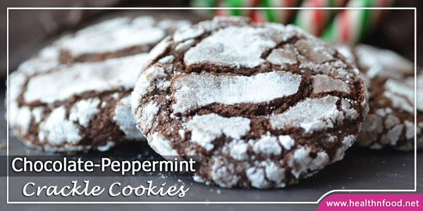 DIY Chocolate Peppermint Cookies