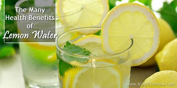 The Many Health Benefits of Lemon Water