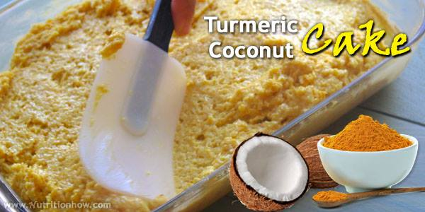 Coconut and Turmeric Cake