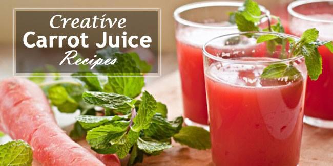 Tasty Carrot Juice Recipes