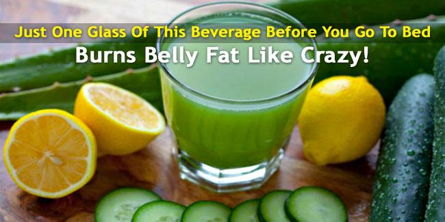 Belly fat burning drinks