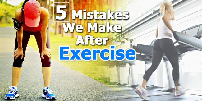 Common Mistakes People Make After Workout