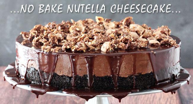 Easy No Bake Nutella Recipes