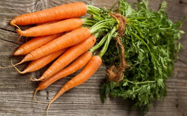 Carrots - Things to Eat to Improve Eyesight