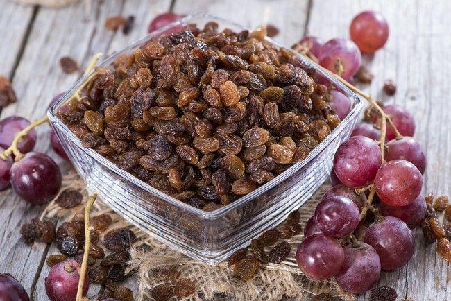 Raisins Nutritional Facts