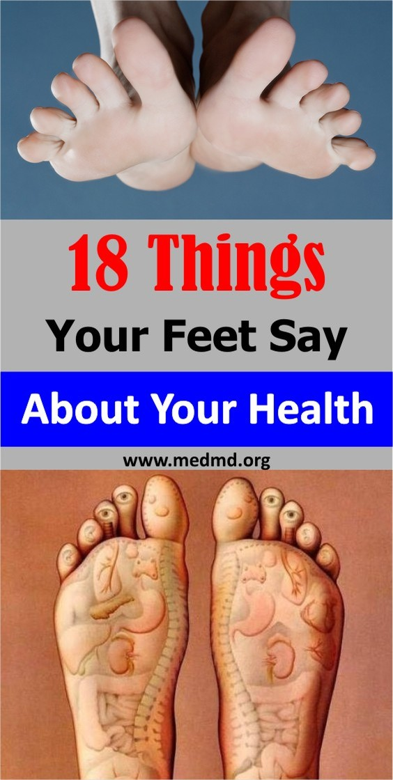 Foot Say About Health