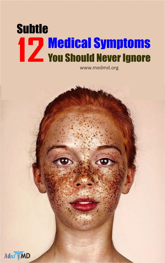 This article will make you aware of the 12 subtle signs which can be harmful and should not be ignored in any case.