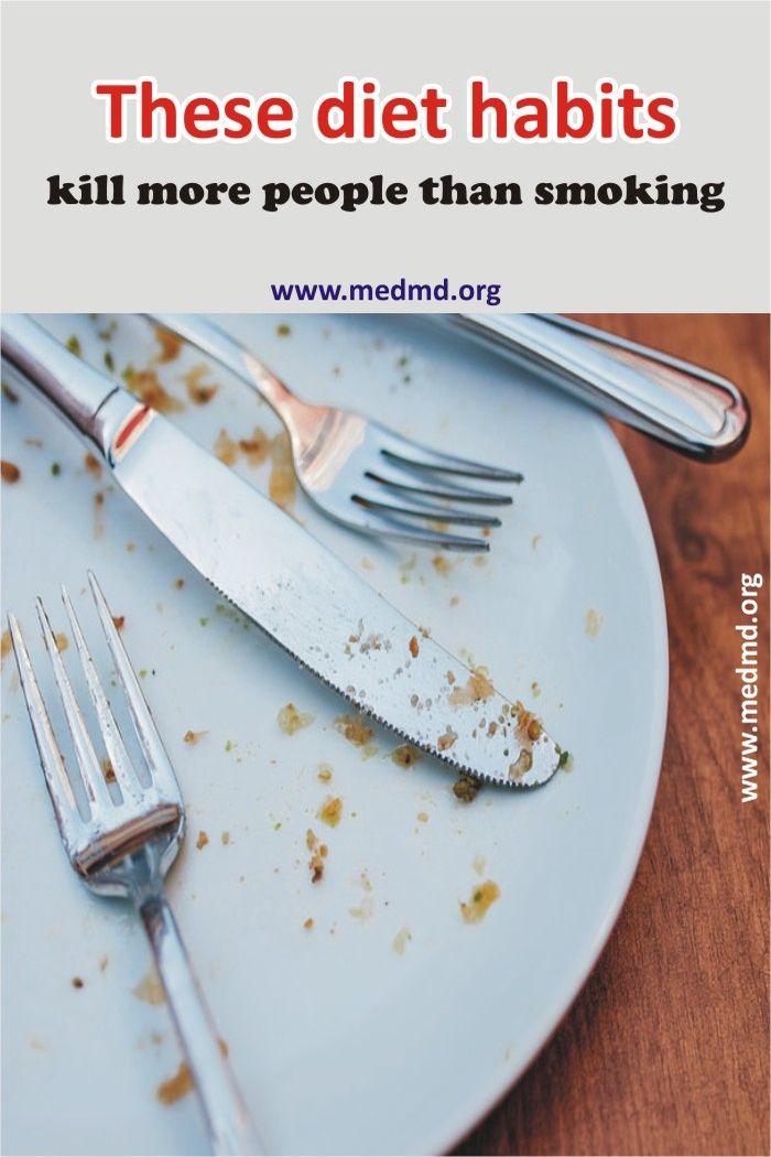 Poor dietary habits