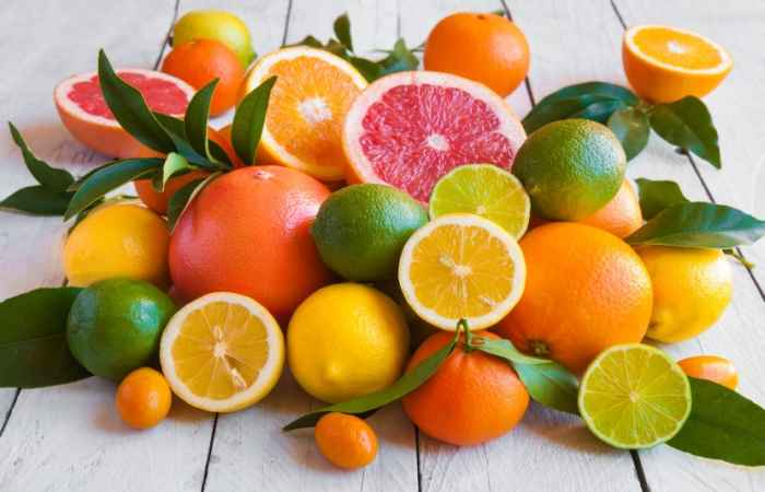 Citrus Fruits Cause Wrinkles