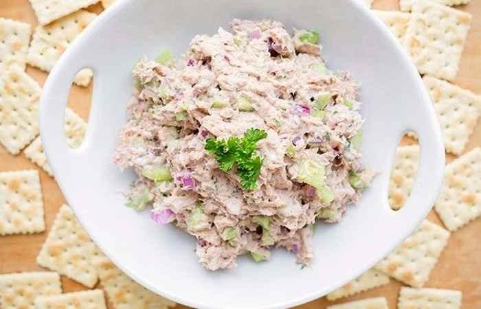 Veggie Tuna Salad for Weight Loss