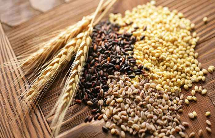Grains and Seeds for Healthy Long Life