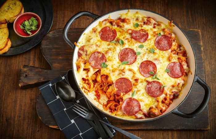 Pepperoni Pizza for Healthy Long Life