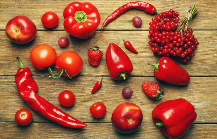 Red Foods for Healthy Long Life