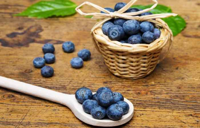 Blueberries Get Rid of Acne