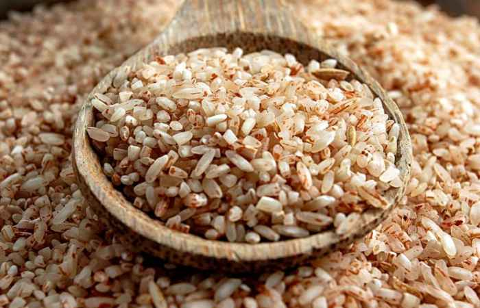 Brown Rice Get Rid of Acne