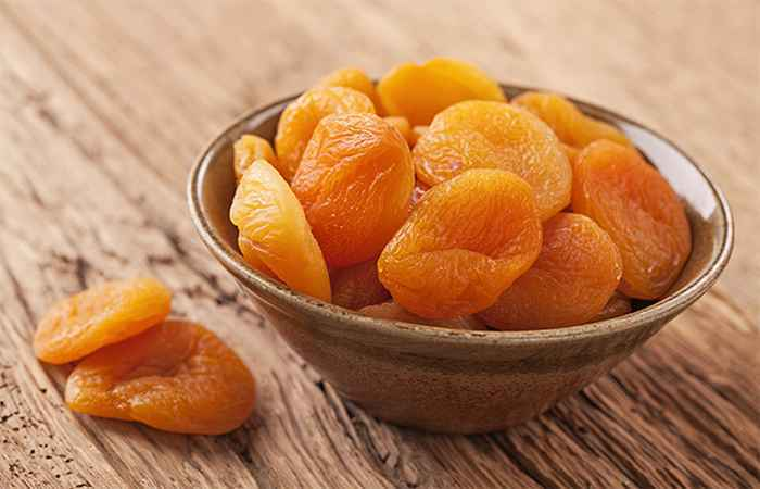 Dried Apricots Get Rid of Acne