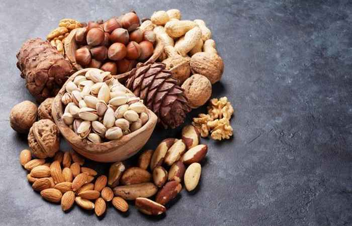 Nuts Get Rid of Acne