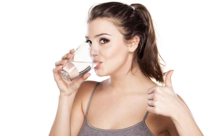Water Get Rid of Acne