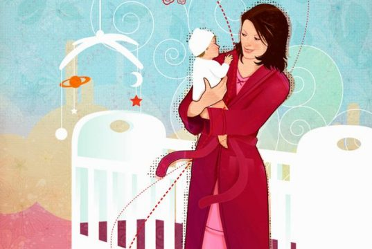 Obsessive compulsive behavior after giving birth