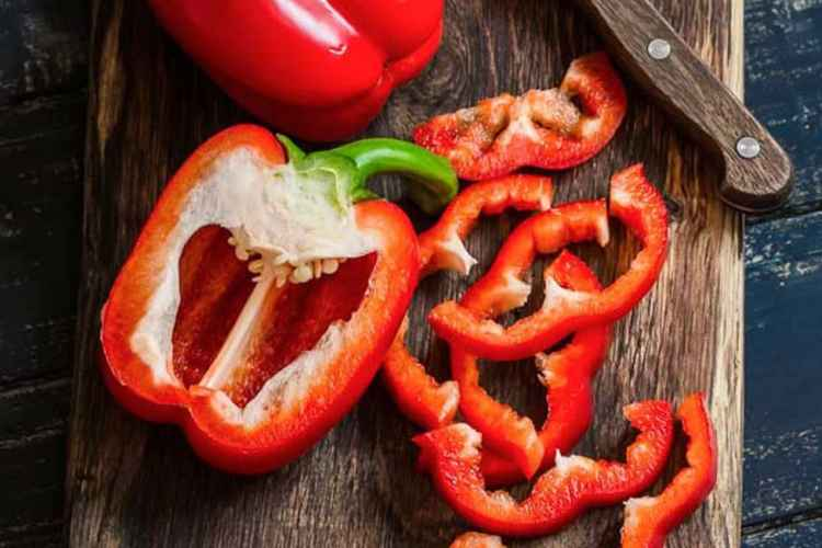Bell Peppers Low Carb Vegetable