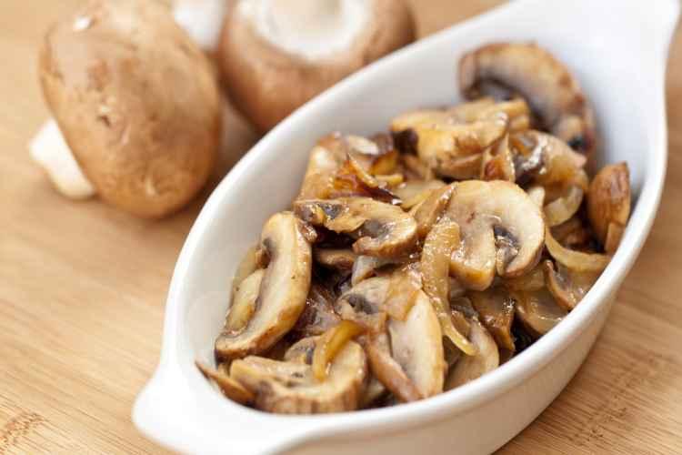 Mushrooms Low Carb Vegetable