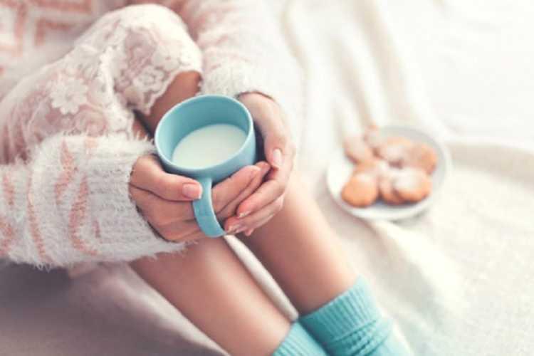 Warm Milk can help sleep