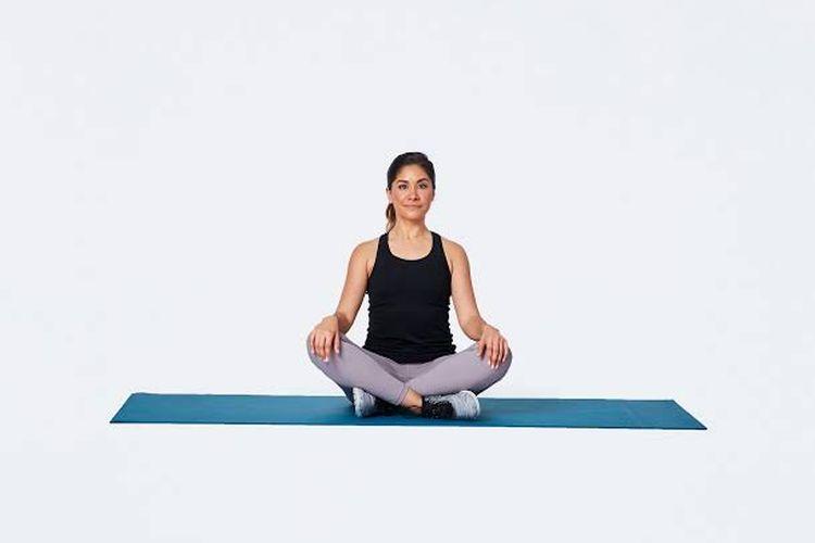 Sukhasana Easy Yoga Pose