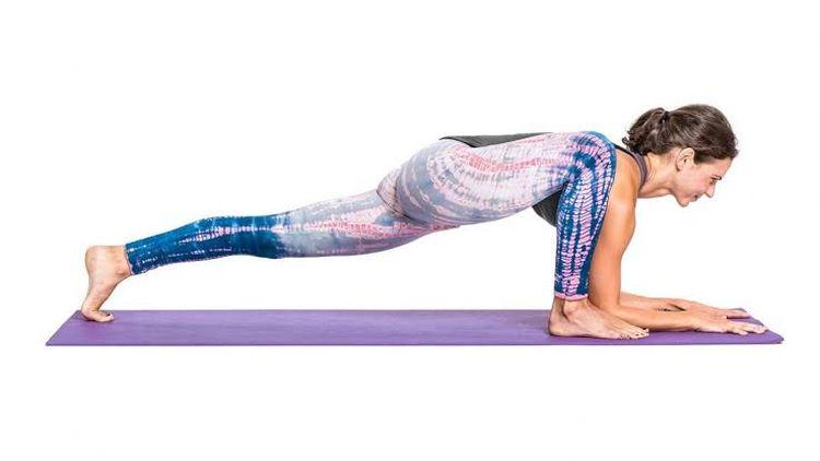 Utthan Pristhasana Lizard Yoga Pose