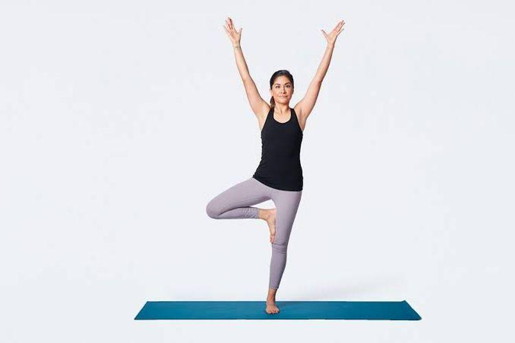 Vrikshasana Tree Yoga Pose